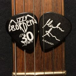 Marten Andersson bass pick Lizzy Borden
