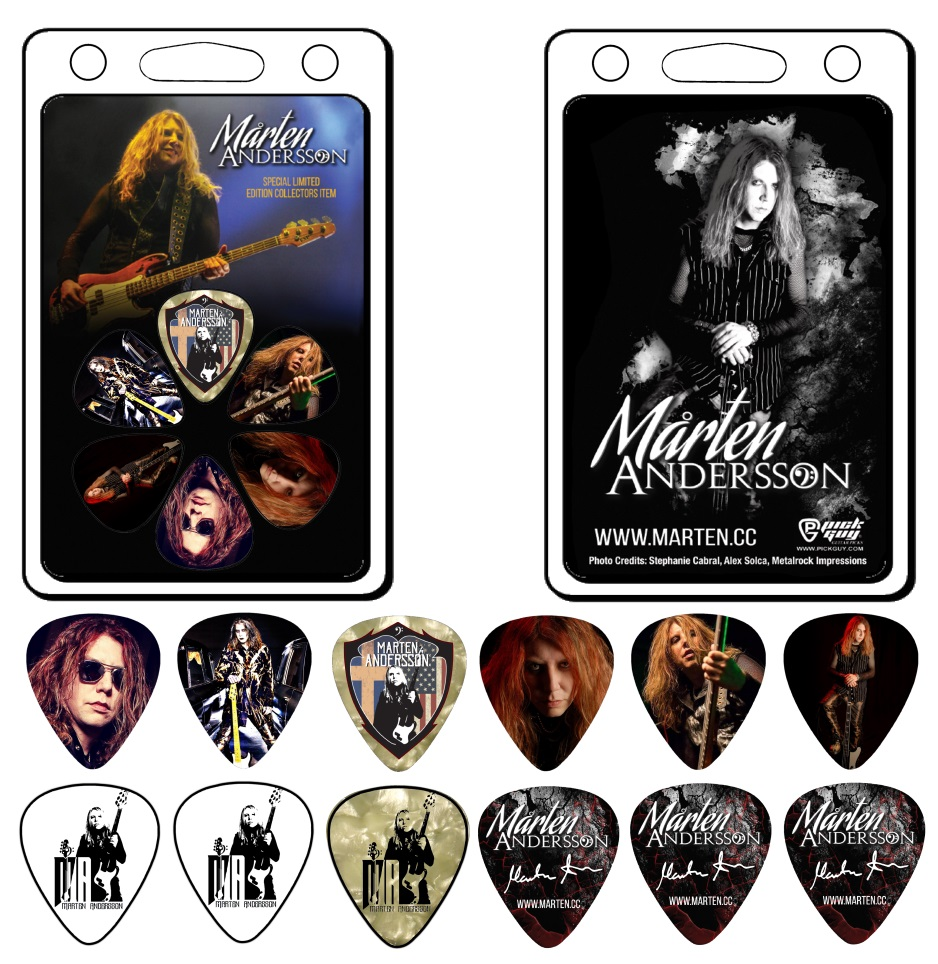 A Special Marten Andersson Limited Edition Collectors Pick Pack has been added to the store. Don't miss this exclusive offer. (a proceed after expenses will go to charity.)