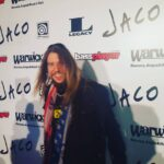 Marten at the premier of the movie Jaco