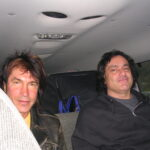 George Lynch and Vinny Appice