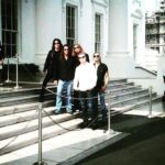 Lizzy Borden getting a private tour of the White House