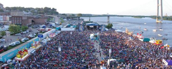Since 1963, Burlington Steamboat Days has played host to some of the finest entertainers in the U.S. BSD is the most prominent annual summer festival in Burlington, Iowa. Entertaining a widely diverse audience in the Greater Burlington community for over 50 years.