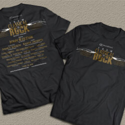 From Classic to Rock show shirt 2016
